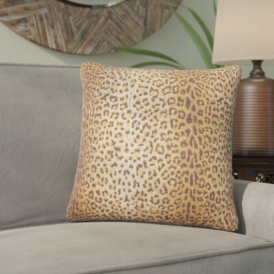 Antioch Animal Print Cotton Throw Pillow