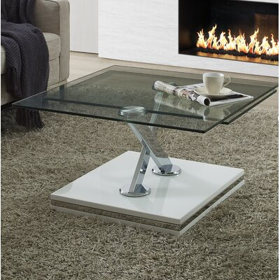 Parkhurst Coffee Table Color: White