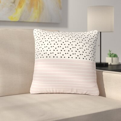 Trebam Razni Outdoor Throw Pillow Size: 16 H x 16 W x 5 D