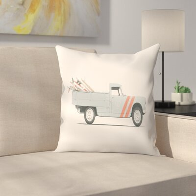 Pickup Throw Pillow Size: 16 x� 16