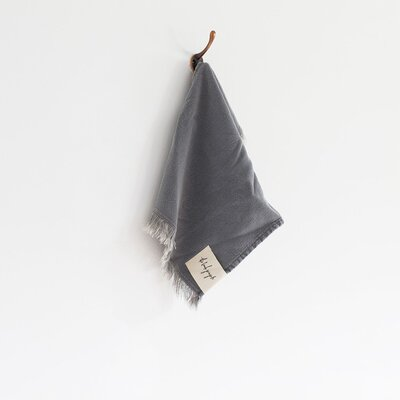 Stonewash Washcloth Color: Ash