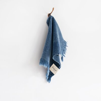 Stonewash Washcloth Color: Indigo