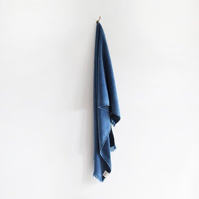 Stonewash Bath Towel Color: Indigo
