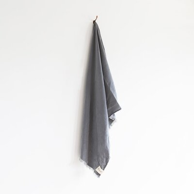 Stonewash Bath Towel Color: Ash