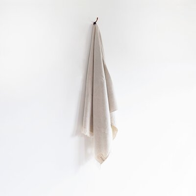 Stonewash Bath Towel Color: Clay