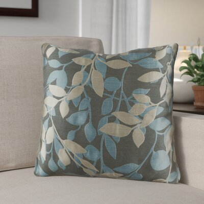 Franciscan Throw Pillow Size: 18 H x 18 W x 4 D, Color: Teal / Gray / Cream, Filler: Polyester