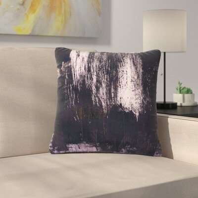 Iris Lehnhardt Brushstrokes 1 Abstract Outdoor Throw Pillow Size: 16 H x 16 W x 5 D