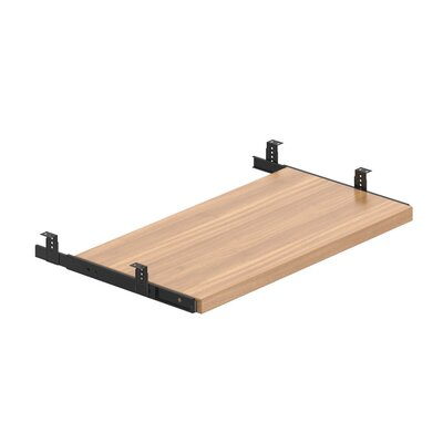 1 H x 23.5 W Desk Keyboard Tray Finish: Autumn Walnut