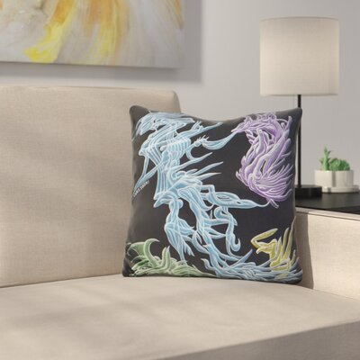 Harvester of Wormholes Throw Pillow