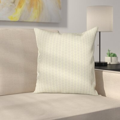Circular Chain Dots Cushion Pillow Cover Size: 20 x 20