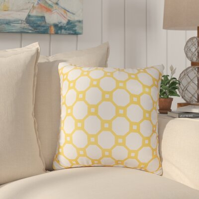 Vinita Throw Pillow Color: Gold
