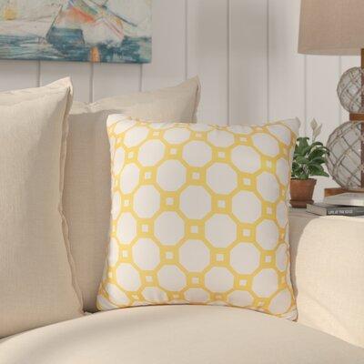 Vinita Throw Pillow Color: Gold