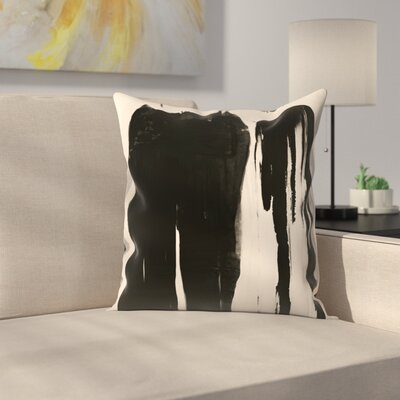 Kasi Minami Abstract 5 Throw Pillow Size: 16 x 16