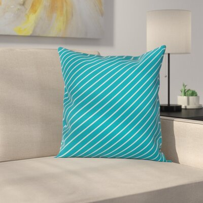 Striped Cruise Cushion Pillow Cover Size: 16 x 16