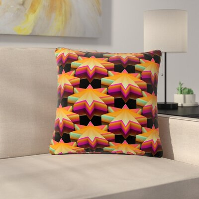 Danny Ivan Stars Pattern Outdoor Throw Pillow Size: 18 H x 18 W x 5 D