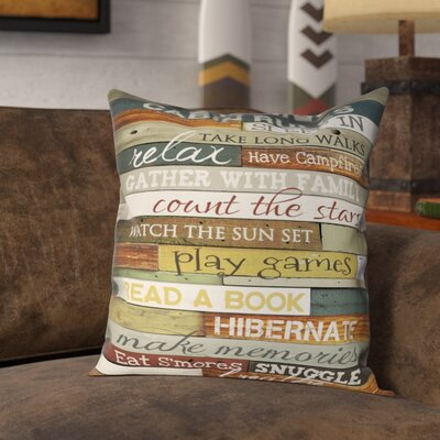 Gunner Outdoor Throw Pillow Size: 20 x 20