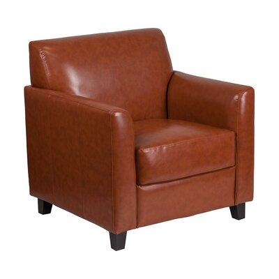 Ash Lounge Chair Seat Color: Cognac