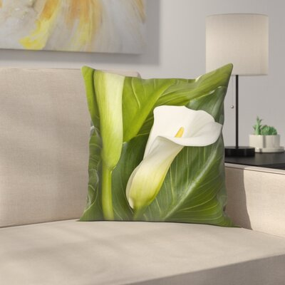 Maja Hrnjak Calla Throw Pillow Size: 16 x 16