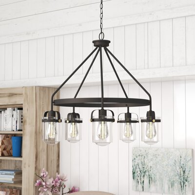 Portland 5-Light Candle-Style Chandelier