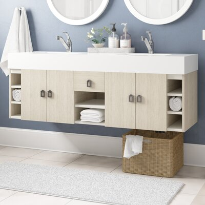 Villegas 59 Double Bathroom Vanity Set