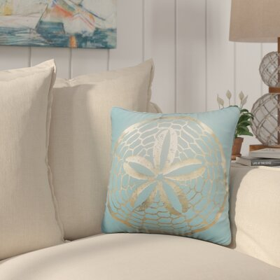 Brandon Cotton Throw Pillow Color: Gold