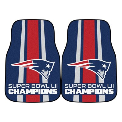 New England Patriots Carpet Car Mat