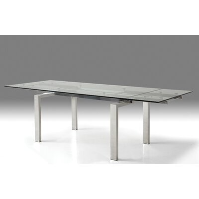 Cantro Extendable Dining Table Finish: Brush