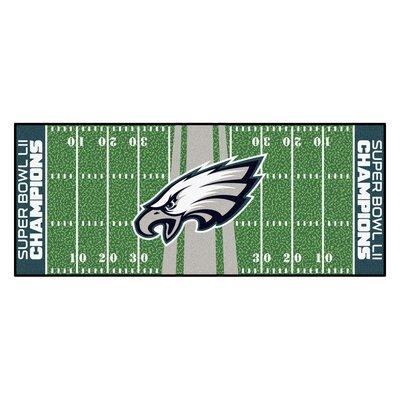 Philadelphia Eagles Football Field Runner Utility Mat