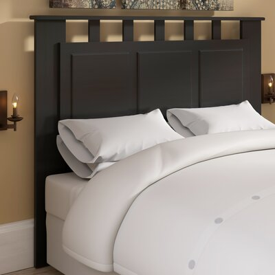 Alamo Open-Frame Headboard Color: Medium Brown
