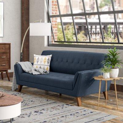 Schiller Standard Sofa Upholstery: Navy