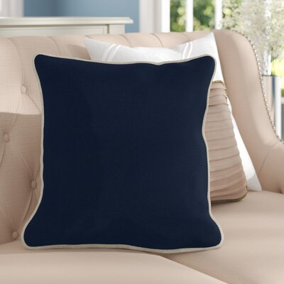 Lockington Throw Pillow Size: Large, Color: Navy