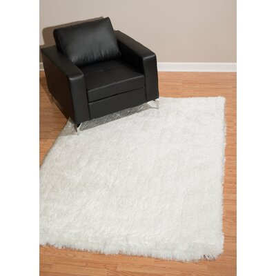 Kristian White Area Rug Rug Size: Rectangle 27 x 311