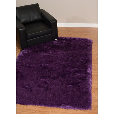 Kristian Purple Area Rug Rug Size: Rectangle  27 x 311