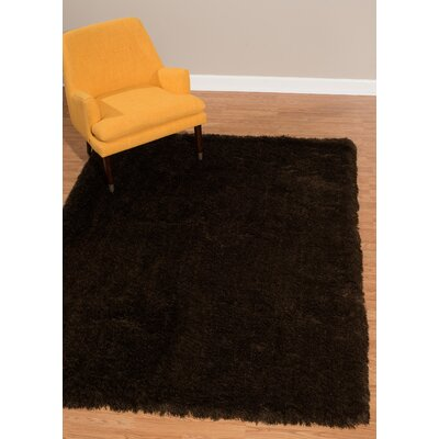 Kristian Brown Area Rug Rug Size: Rectangle 53 x 72