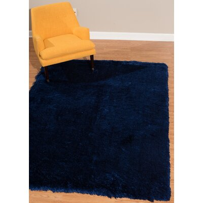 Kreutzer Navy Area Rug Rug Size: Rectangle 53 x 72