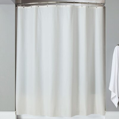 Karcher Magnets Shower Curtain Color: White