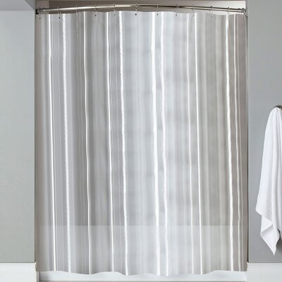 Karcher Magnets Shower Curtain Color: Clear