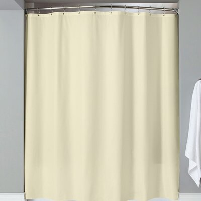 Karcher Magnets Shower Curtain Color: Beige