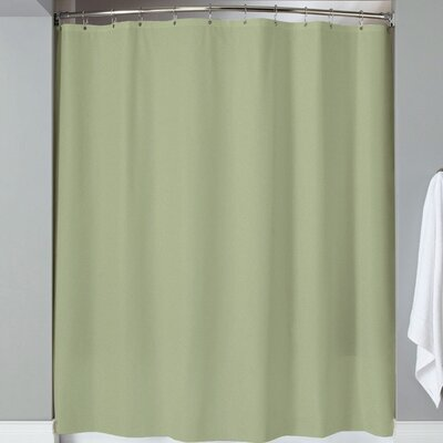 Karcher Magnets Shower Curtain Color: Sage