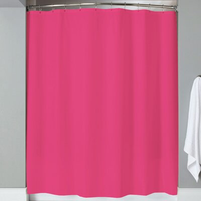 Karcher Magnets Shower Curtain Color: Fuchsia