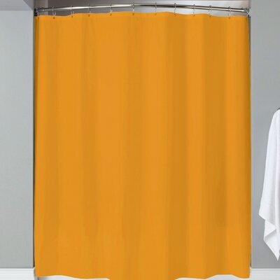 Karcher Magnets Shower Curtain Color: Orange