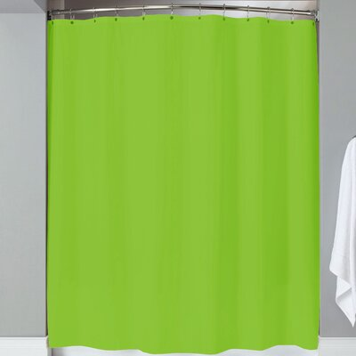 Karcher Magnets Shower Curtain Color: Lime