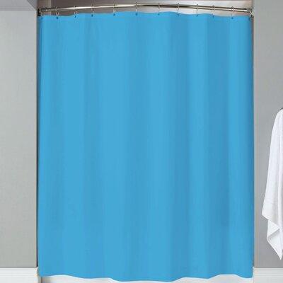 Karcher Magnets Shower Curtain Color: Turquoise