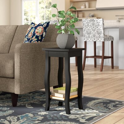 Danby End Table Color: Black