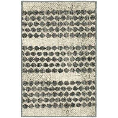 Mulder Denim/Cream Area Rug Rug Size: Rectangle 18 x 26