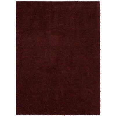 Auguste Red/Berry Area Rug Rug Size: Rectangle 26 x 38