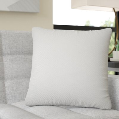 Reeser Geometric Throw Pillow Color: Bone