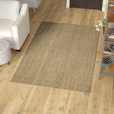 Zullo Natural Area Rug Rug Size: Runner 26 x 9