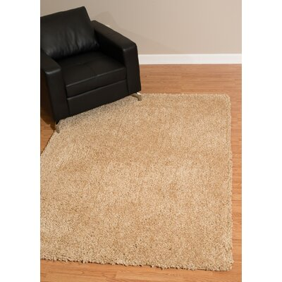 Mullenix Light Beige Area Rug Rug Size: Rectangle 27 x 311