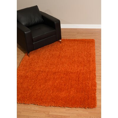 Mullenix Orange Area Rug Rug Size: Rectangle 7'10